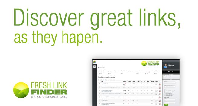 Fresh Link Finder