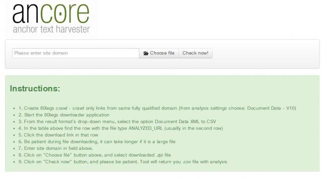 ancore screenshot